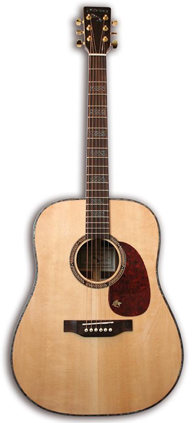 Mcbrides SCARIFF Acoustic Guitar