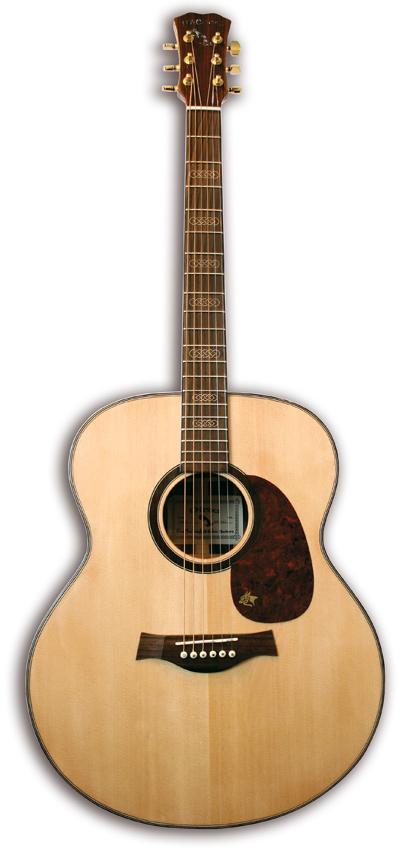 Mcbrides DERNISH Acoustic Guitar