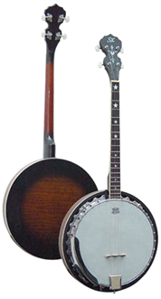 BJ4_30G_full SX Tenor Banjo