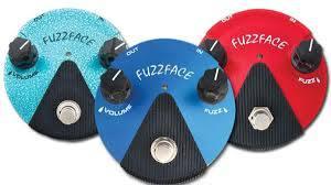 Dunlop Fuzz Face Mini pedals
