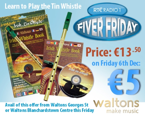FIVER FRIDAY @ Waltons Music