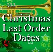 LAST CHRISTMAS ORDER DATES