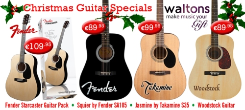 NEW BIG BRAND STARTER ACOUSTIC GUITARS