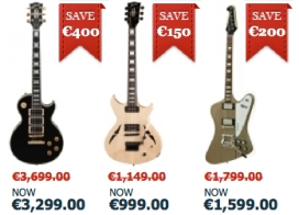 Gibson-Electrics-Sale